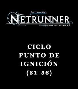 Android Netrunner LCG: Pack Ciclo Punto de Ignición (6 Capítulos)
