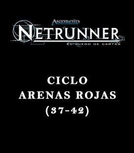 Android Netrunner LCG: Pack Ciclo Arenas Rojas (6 Capítulos)
