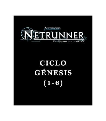 Android Netrunner LCG: Pack Ciclo Génesis (6 Capítulos)