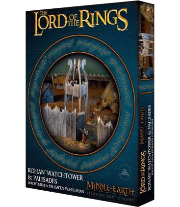 Middle-Earth Strategy Battle Game: Rohan Watchtower & Palisades