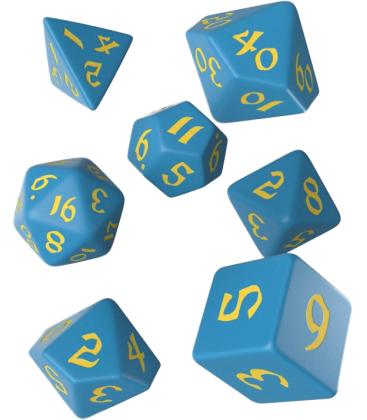 Q-Workshop: Classic Runic (Blue & Yellow)