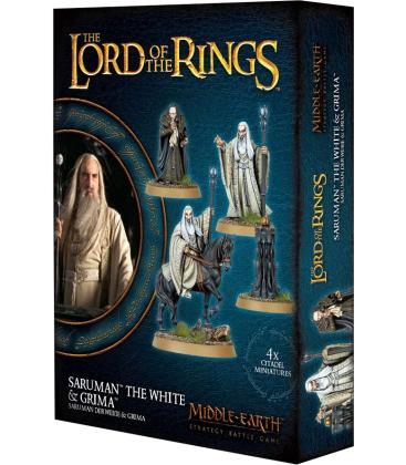 Middle-Earth Strategy Battle Game: Saruman the White & Grima