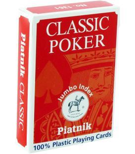 Baraja de Poker de Plástico Piatnik