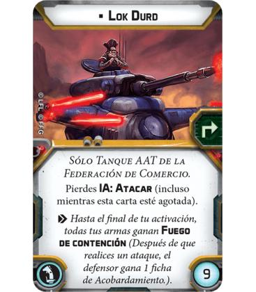Star Wars Legion: Tanque AAT de la Federación de Comercio