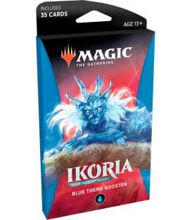 Magic the Gathering: Ikoria - Lair of Behemots (Blue Theme Booster) (Inglés)