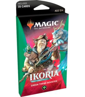 Magic the Gathering: Ikoria - Lair of Behemots (Green Theme Booster) (Inglés)