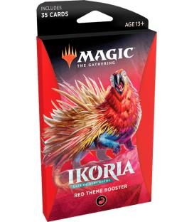 Magic the Gathering: Ikoria - Lair of Behemots (Red Theme Booster) (Inglés)
