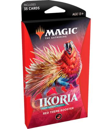 Magic the Gathering: Ikoria - Lair of Behemots (Red Theme Booster)