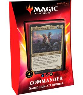 Magic the Gathering: Ikoria - Mazo Commander (Sabiduría Atemporal)