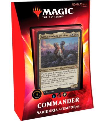 Magic the Gathering: Ikoria - Mazo Commander (Sabiduría Atemporal)