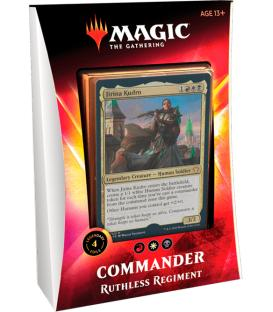 Magic the Gathering: Ikoria - Commander (Ruthless Regiment) (Inglés)