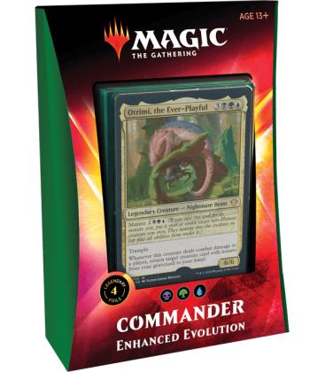c the Gathering: Ikoria - Commander (Enhanced Evolution)