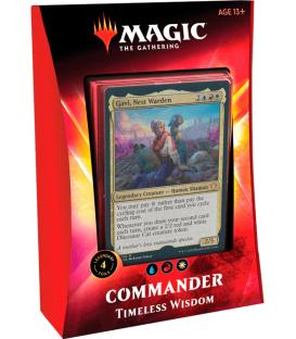Magic the Gathering: Timeless Wisdom (Mazo Commander) (Inglés)