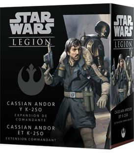 Star Wars Legion: Cassian Andor y K-2SO