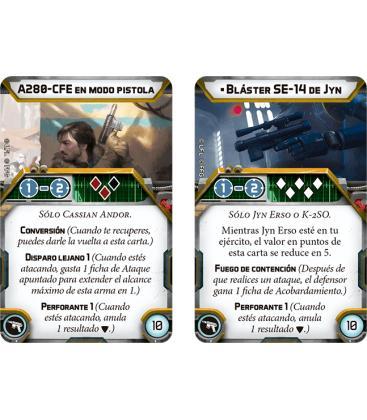 Star Wars Legion: Cassian Andor y K-2SO