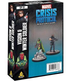 Marvel Crisis Protocol: Vision & Winter Soldier (Inglés)