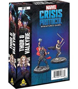 Marvel Crisis Protocol: Thor & Valkyrie (Inglés)