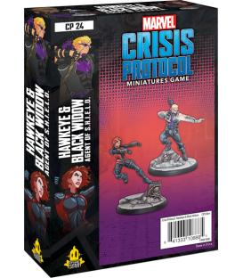 Marvel Crisis Protocol: Hawkeye & Black Widow, Agent of S.H.I.E.L.D. (Inglés)