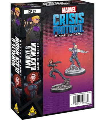 Marvel Crisis Protocol: Hawkeye & Black Widow, Agent of S.H.I.E.L.D.