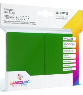 Gamegenic: Pack Prime Sleeves (Verde) (100)