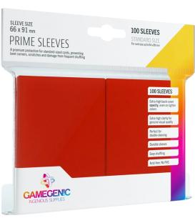 Gamegenic: Pack Prime Sleeves (Rojo) (100)