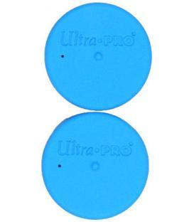 Tapón Tubo Porta-tapetes Ultra Pro (2 Unidades) - Azul Celeste