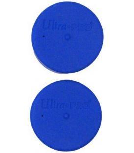 Tapón Tubo Porta-tapetes Ultra Pro (2 Unidades) - Azul