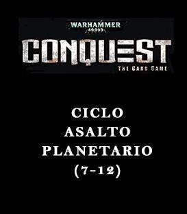 Warhammer 40,000 Conquest: Pack Asalto Planetario (6 Capítulos)
