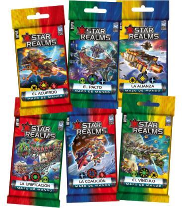 Star Realms: Mazo de Mando (La Alianza)