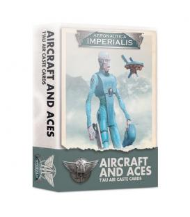 Aeronautica Imperialis: Aircraft and Aces (T'AU Air Caste Cards)
