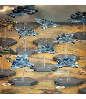 Aeronautica Imperialis: T'AU Air Caste (Barracuda Fighters)