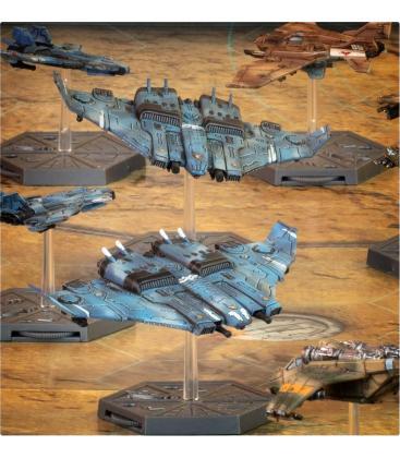 Aeronautica Imperialis: T'AU Air Caste (Tiger Shark Fighter-Bombers)