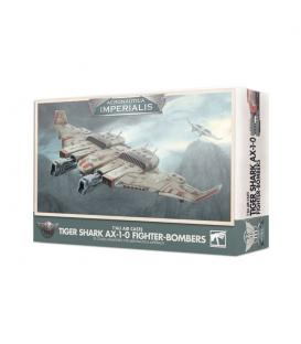 Aeronautica Imperialis: T'AU Air Caste (Tiger Shark AX-1-0 Fighter-Bombers)