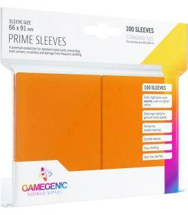 Gamegenic: Pack Prime Sleeves (Naranja) (100)