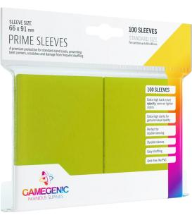 Gamegenic: Pack Prime Sleeves (Verde Lima) (100)