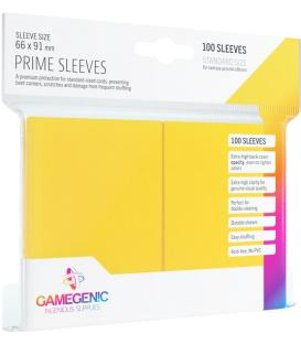 Gamegenic: Pack Prime Sleeves (Amarillo) (100)