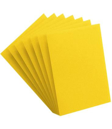 Gamegenic: Pack Matte Prime Sleeves (Amarillo) (100)