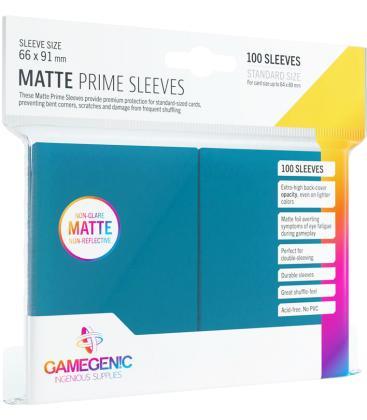 Gamegenic: Pack Matte Prime Sleeves (Azul) (100)