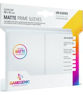 Gamegenic: Pack Matte Prime Sleeves (Blanco) (100)