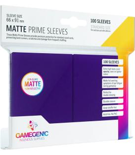 Gamegenic: Pack Matte Prime Sleeves (Morado) (100)