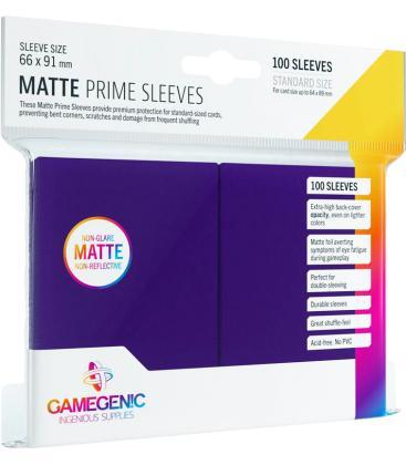 Gamegenic: Pack Matte Prime Sleeves (Morado) (100)