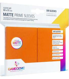 Gamegenic: Pack Matte Prime Sleeves (Naranja) (100)