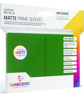 Gamegenic: Pack Matte Prime Sleeves (Verde) (100)