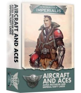 Aeronautica Imperialis: Aircraft and Aces (Astra Militarum and Imperial Navy Cards) (Inglés)