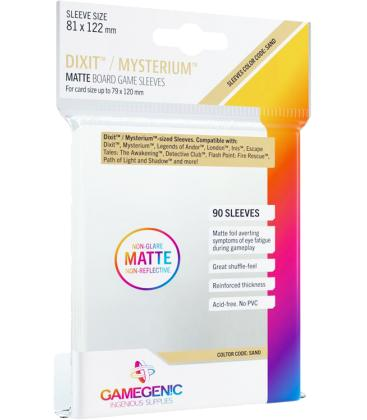 Gamegenic: Matte Dixit Sleeves 81x122mm (90)