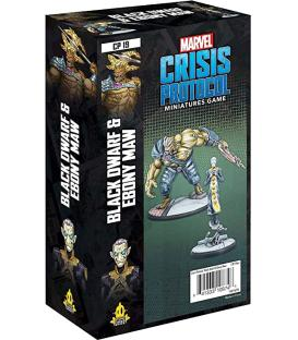 Marvel Crisis Protocol: Black Dwarf and Ebony Maw (Inglés)