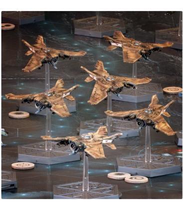 Aeronautica Imperialis: Imperial Navy (Lightning Fighters)