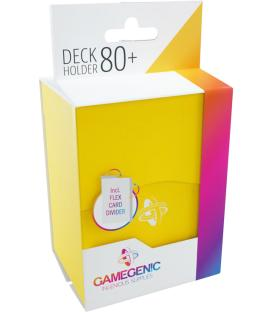 Gamegenic: Deck Holder 80+ (Amarillo)