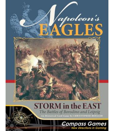 Napoleon's Eagles: Storm in the East - The Battles of Borodino and Leipzig (Inglés)