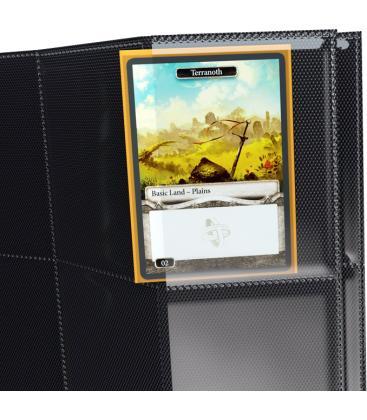 Gamegenic: Sideloading 18-Pocket Pages Display (Negro) (50)
